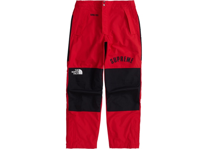 Supreme The North Face Arc Logo Mountain Pant Red
