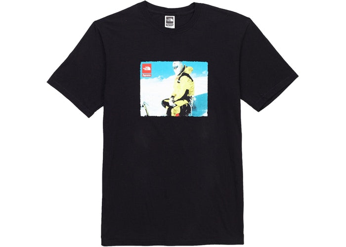 Supreme x TNF expedition tee (SS18 ) -Black
