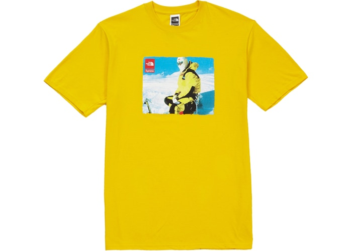 Supreme The North Face Photo Tee Yellow