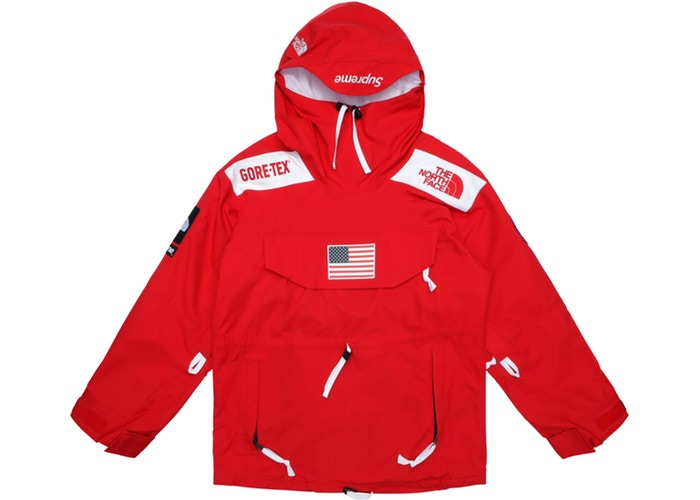 Supreme The North Face Trans Antarctica Expedition Pullover Jacket Red