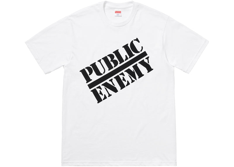 "Supreme UNDERCOVER/Public Enemy ""Blow Your Mind"" Tee White"