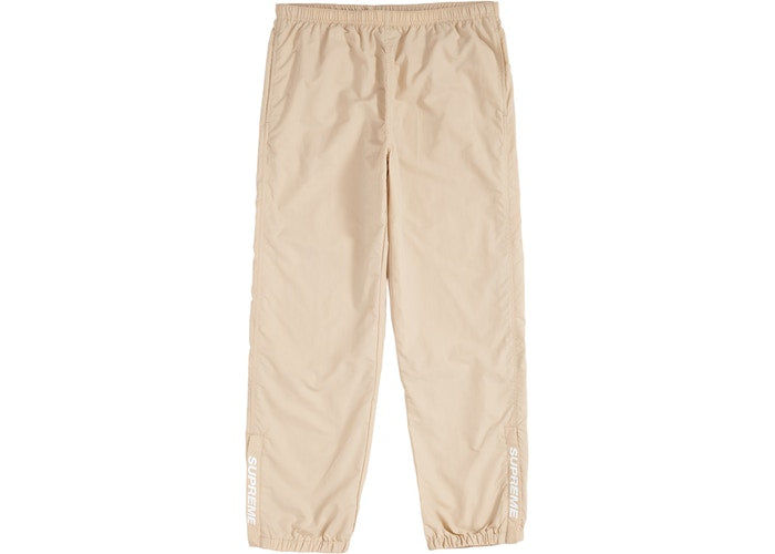 Supreme Warm Up Pants FW18 Light Tan