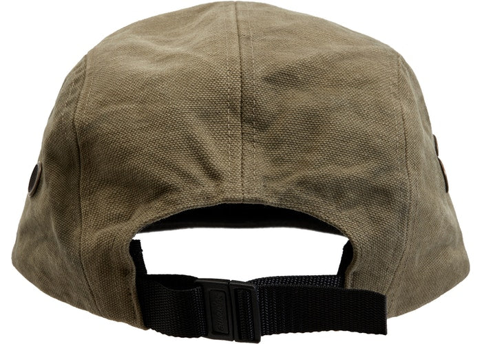 Supreme Washed Canvas Camp Cap (FW19) -Olive