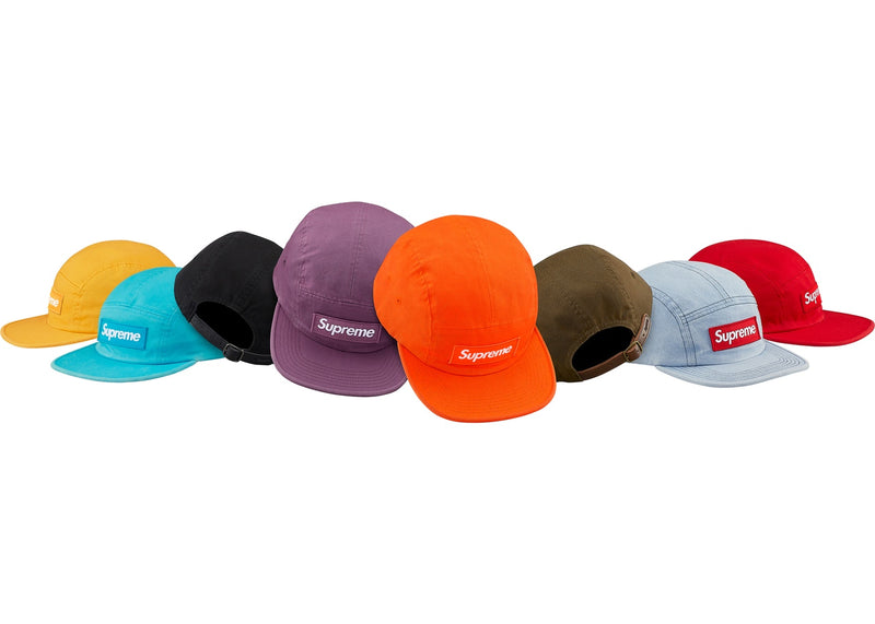 Supreme Washed Chino Twill Camp Hat