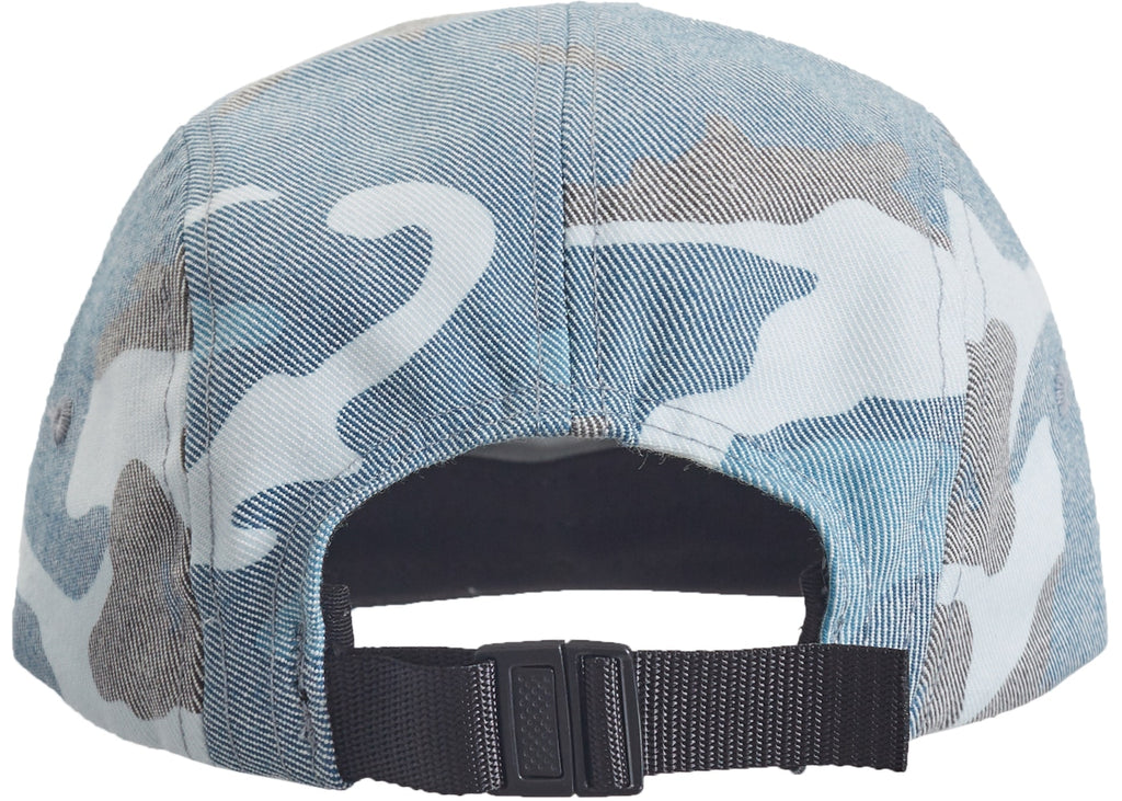 Supreme Washed Out Camo Camp Cap - Blue Camo