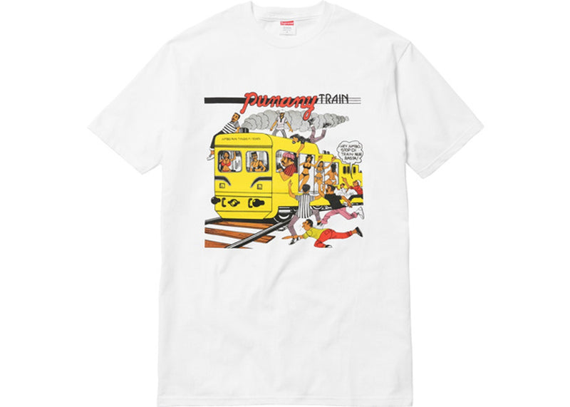Supreme Wilfred Limonius Punany Train Tee White