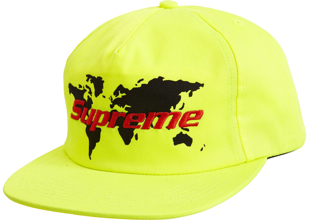 Supreme World 5 Panel - Lime Green -