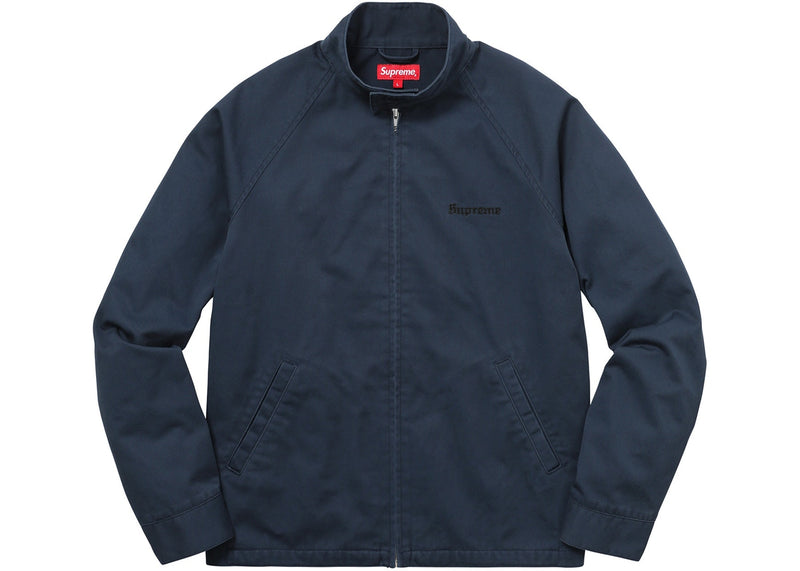 Supreme Chief Harrington Jacket Light Navy