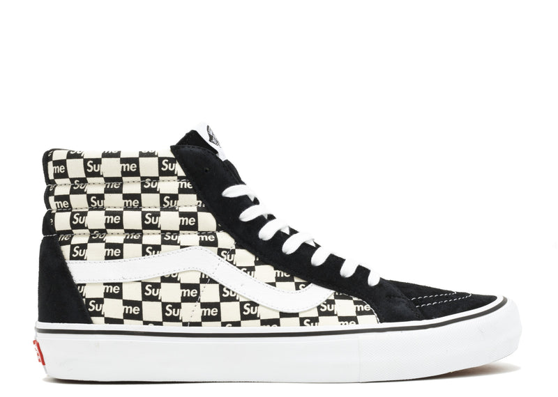 "VANS SK8-HI REISSUE PRO CHECKERED ""SUPREME"""