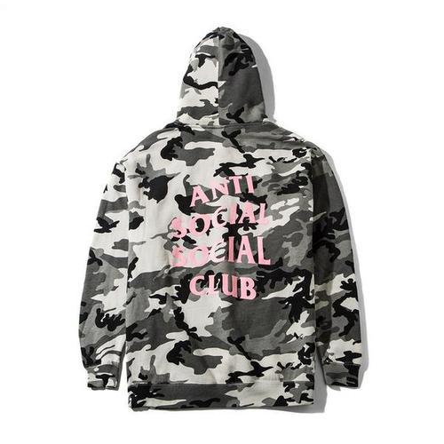 "Anti Social Social Club Camo hoodie ""Not Gildan"""