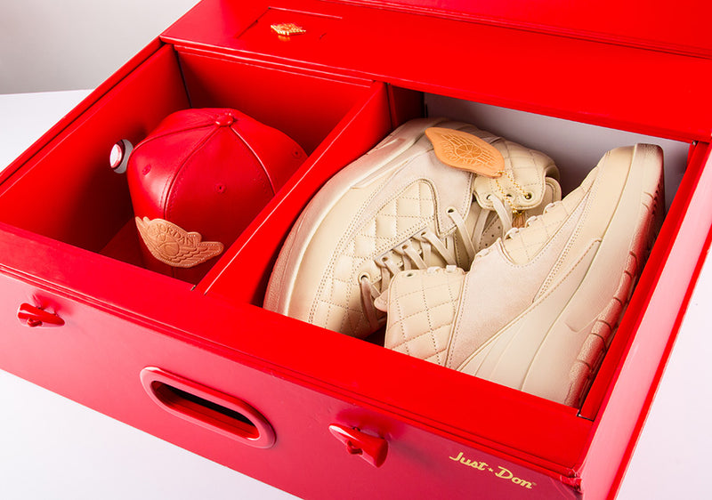 "Air Jordan 2 Retro Just Don ""Don C Beach"" -Special Box"