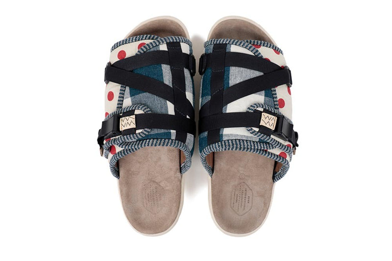 Visvim Christo Collage Sandals