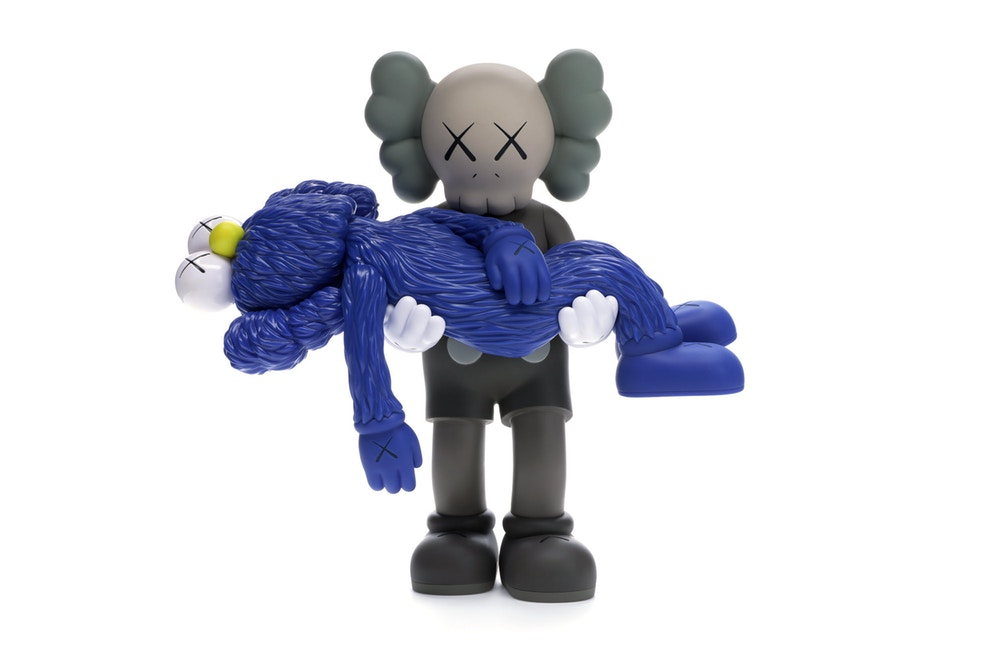 KAWS Gone Figure - Brown