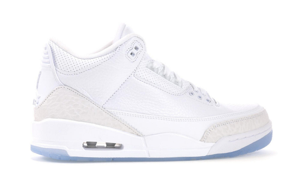 "Air Jordan 3 ""Pure White"""