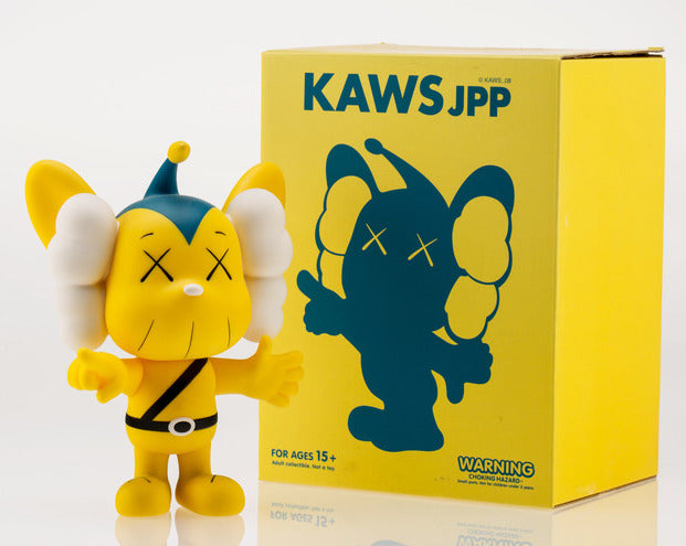 KAWS JPP Vinyl Figure Yellow