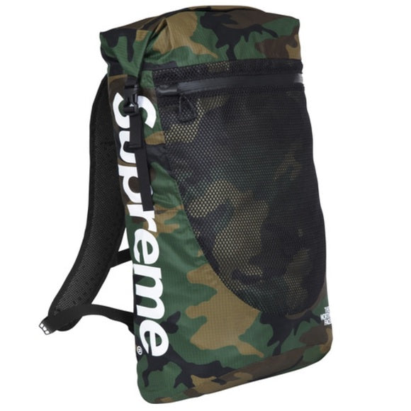 Supreme The North Face WaterProof Backpack Woodland Camo SS17