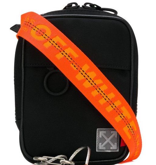 Off-White Black Tape Mini Crossbody Bag