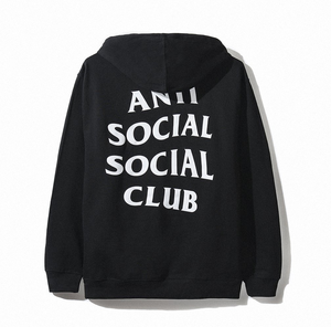 Anti Social Social Club x Viceland Hoodie - black