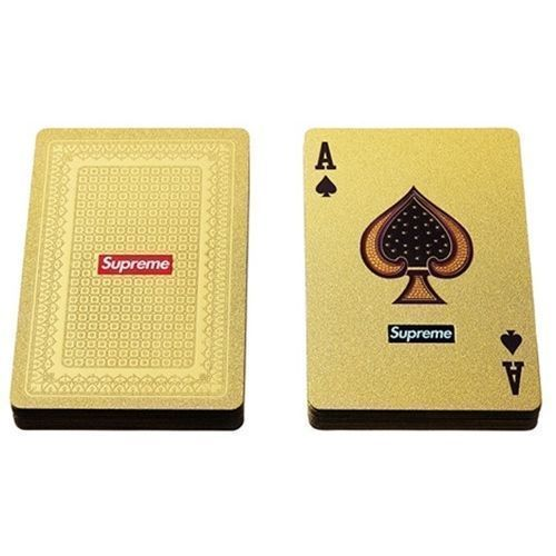 "Supreme Cards ""Gold Foil"""