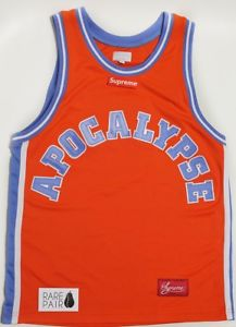 Supreme Apocalypse Basketball Jersey - Orange (SS16)