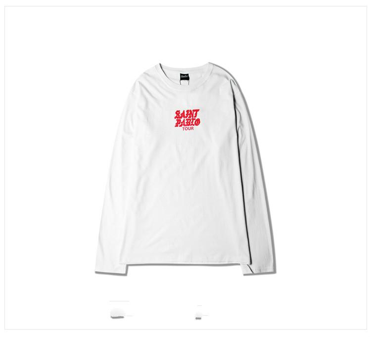 Saint Pablo Tour Print Long Sleeve
