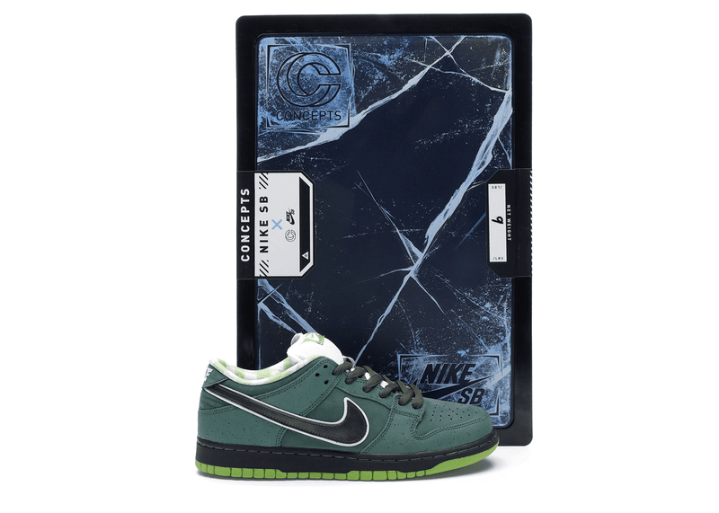 "Nike SB Dunk Low Concepts ""Green Lobster"" (special box)"
