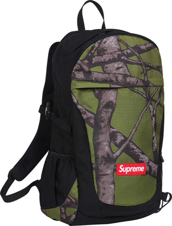 "Supreme Backpack FW12 ""Tree Camo Green"""