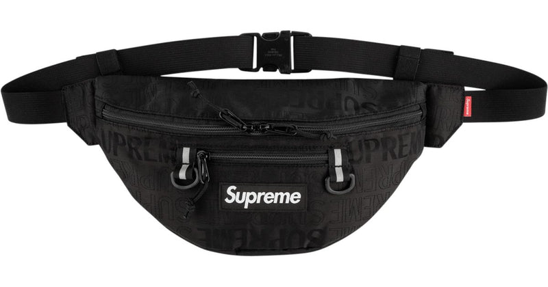 Supreme Waist Bag (ss19) -Black