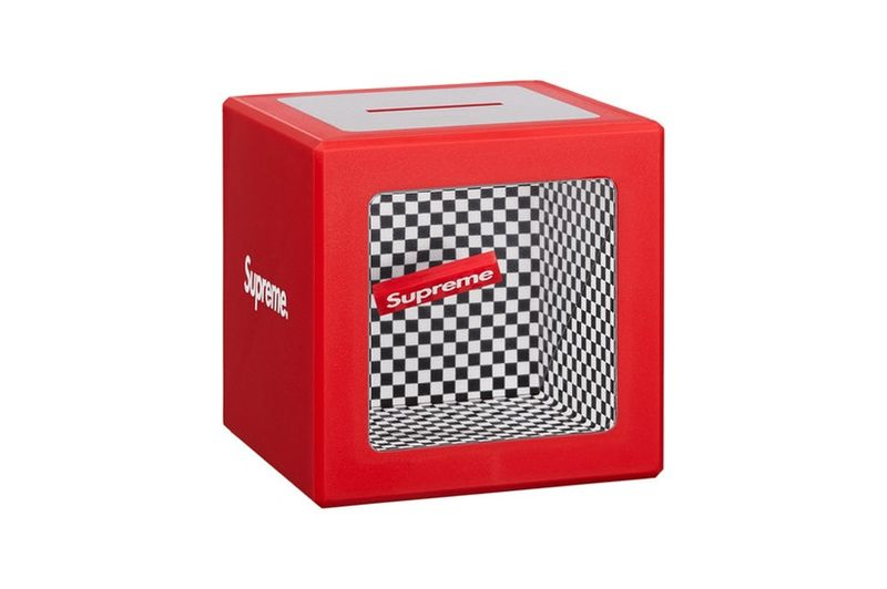 Supreme Illusion Coin Bank Red