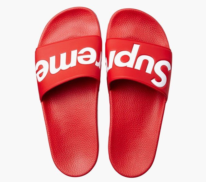 Supreme S/S14 Sandals -Red