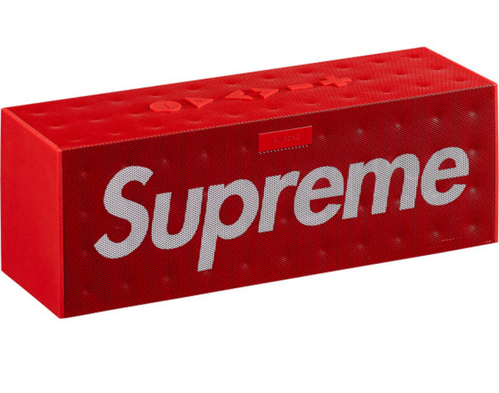 Supreme x Jawbone Big Jambox Wireless Speaker -SS14