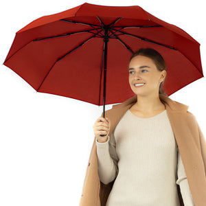 Repel Travel Umbrella - Red