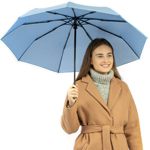 Repel Travel Umbrella - Slate Blue
