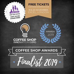Our CBD for Coffee is up for an Innovation Award!
