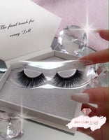 DOLLBABY LASHES - Faux Mink/ Invisible band