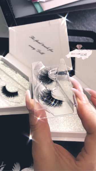 TROPHY WIFE LASHES - Mink/ Invisible Band (BEST SELLER)