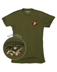 Farm Boy Freedom Eagle Tee