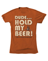 Farm Boy Hold My Beer Tee