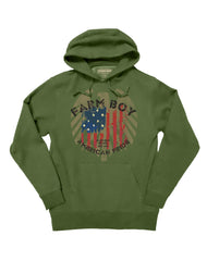 Farm Boy USA Fleece Hoodie