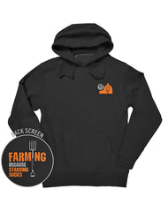 Farm Boy Starving Sucks Classic Fleece Hoodie