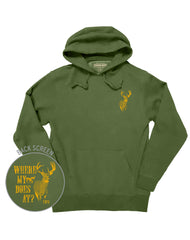 Farm Boy Where My Does At Pull Over Hoodie