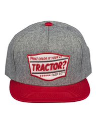 Farm Boy What Color Is Your Tractor Cap