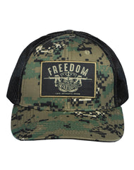 Farm Boy Feedom Camo Cap