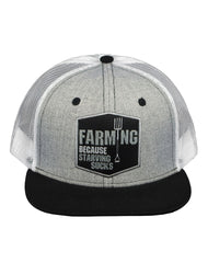 Farm Boy Starving Sucks Mesh Cap