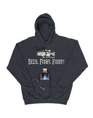 Farm Boy Beer Fishy, Fishy CANGAROO Hoodie