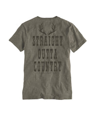 Farm Boy Straight Out of Country Pocket Tee
