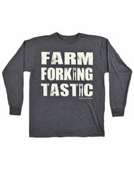 Farm Boy Farm Forking Tastic Long Sleeve Tee