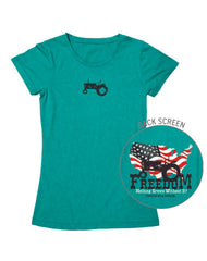 Farm Girl Freedom Tee