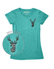 Farm Girl Deer Season Tee