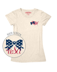 Farm Girl Stars & Stripes Tee